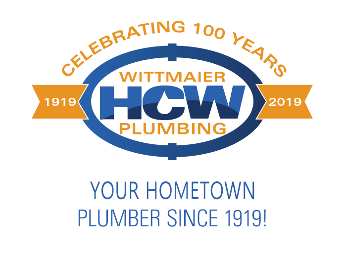 Wittmaier Plumbing Logo with Slogan